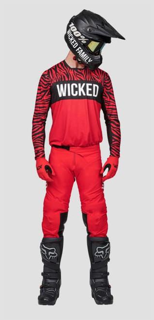 Wicked Family Jersey & Pant Set. MX, BMX, MTB, FMX