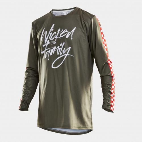 Wicked Family Jersey. MX, BMX, MTB, FMX