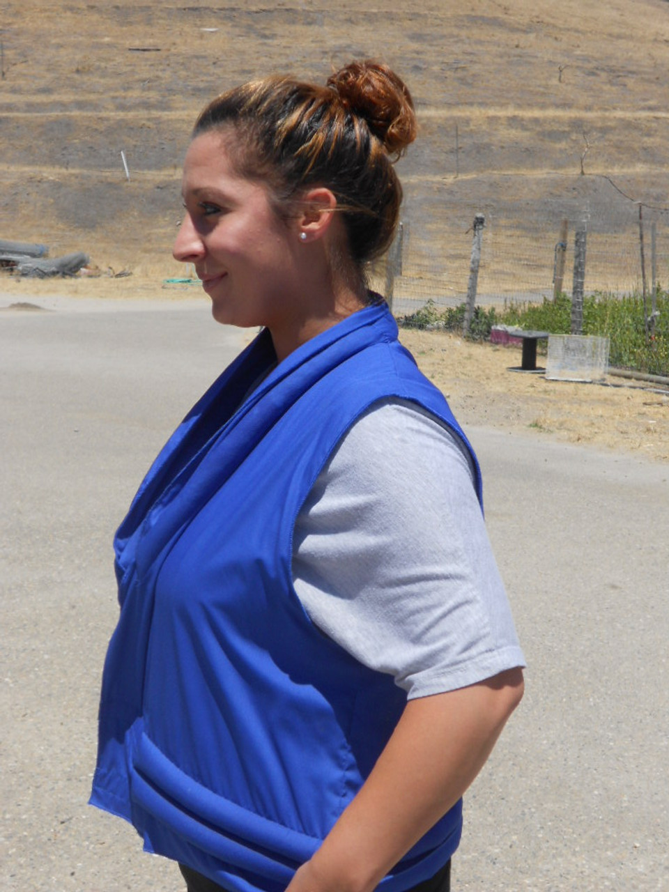 Cool comfort with cool vests by Polar-Products. Made in the USA.