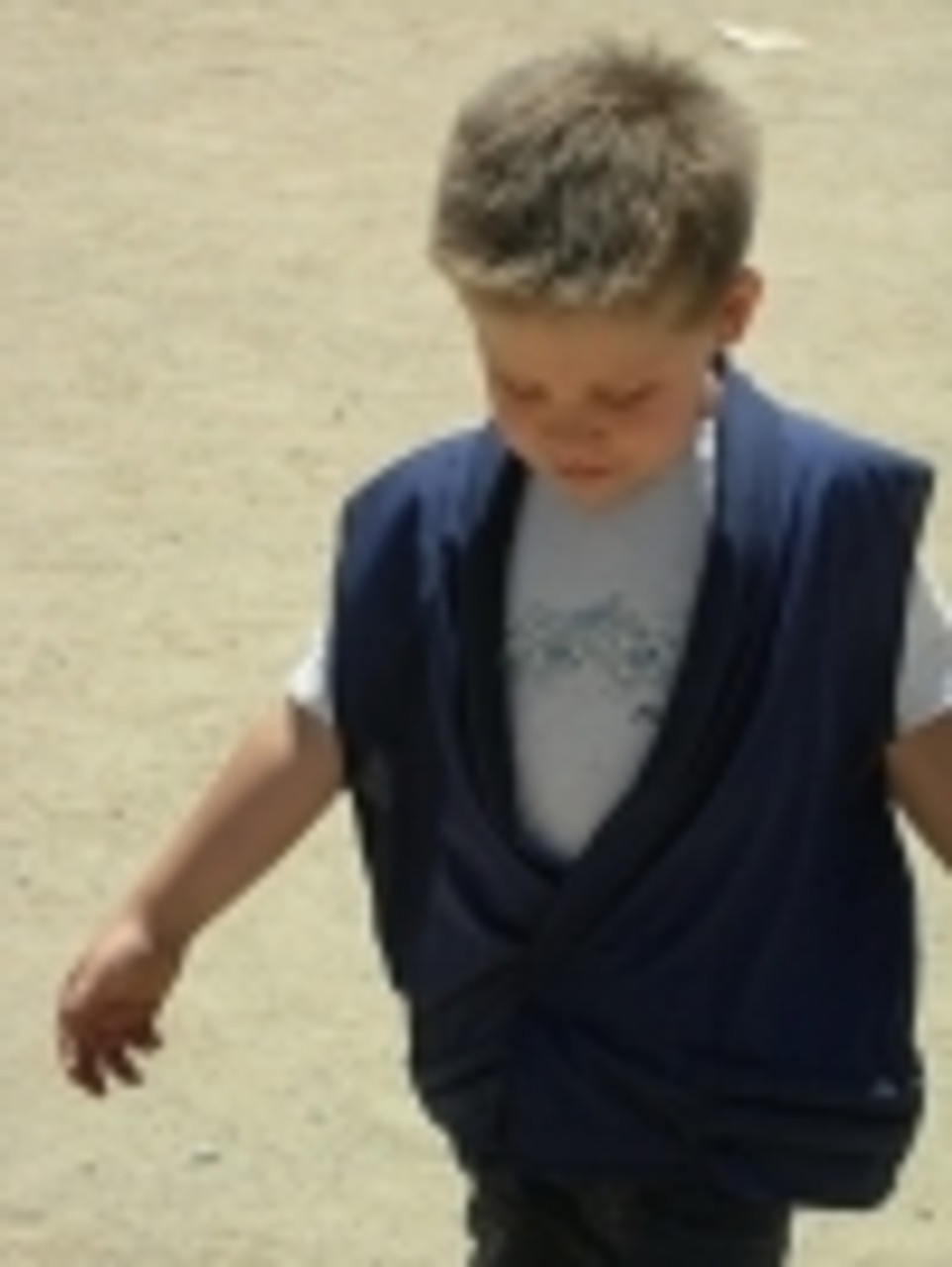 The small cool vest works well for children too!