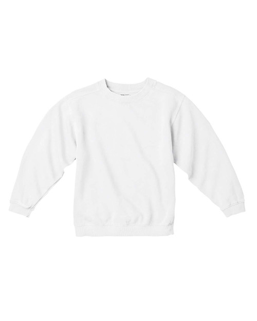 Youth Garment-Dyed Crew Sweatshirt