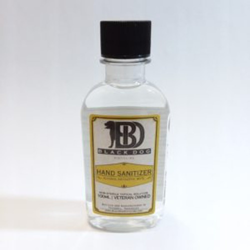 100ml Black Dog Hand Sanitizer
