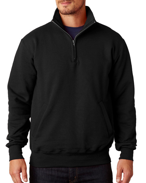 Custom Embroidered Double Dry Eco® Quarter-Zip Pullover