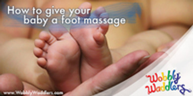 How to give your Baby a foot massage
