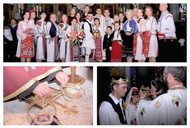 Congratulations to Laura & Costas on their beautiful Traditional  Romanian & Greek Wedding!