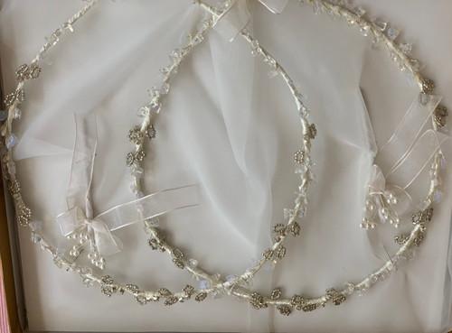 Art Deco Greek Orthodox Wedding Crowns