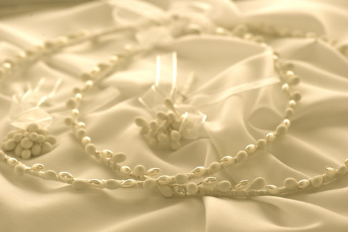 Crown Stefana presents Pearl Traditional wedding crowns