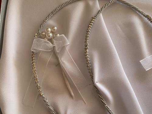 Destiny Stefana - Handmade wedding crowns direct from Cyprus. We ship worldwide.