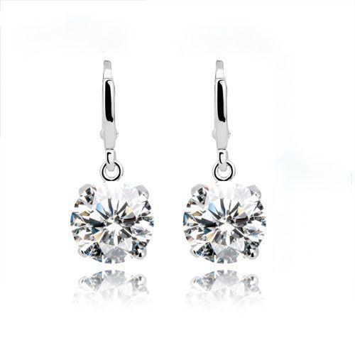 Elegant Brilliant Accent Earrings www.crownstefana.com