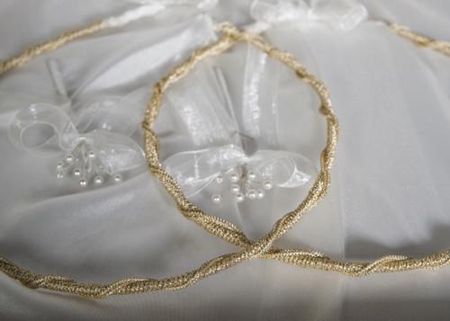 Gold Era Greek orthodox wedding crowns direct from Cyprus. We ship globally!