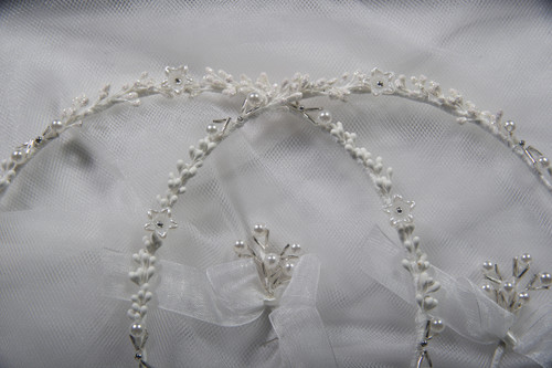 Crown Stefana presents Harmony Stefana - Hand made Greek Orthodox Wedding Crowns