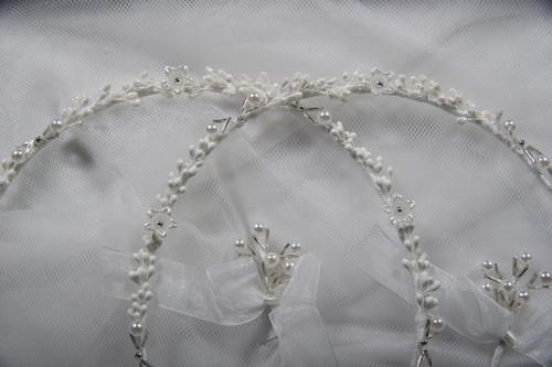 Crown Stefana presents Harmony Stefana - Hand made Greek Orthodox Wedding Crowns