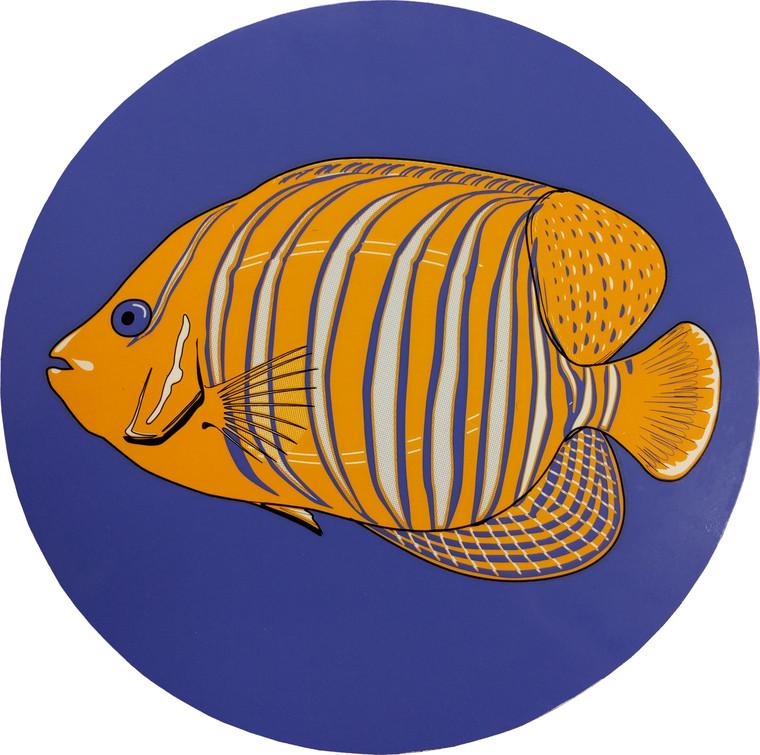 "Set of two 7"" MINI Queen Angel Fish Drop-in PoolArt™"