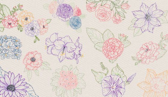 embroidery designs instant download
