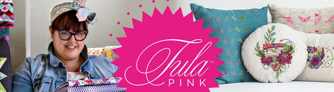 Tula Pink embroidery designs