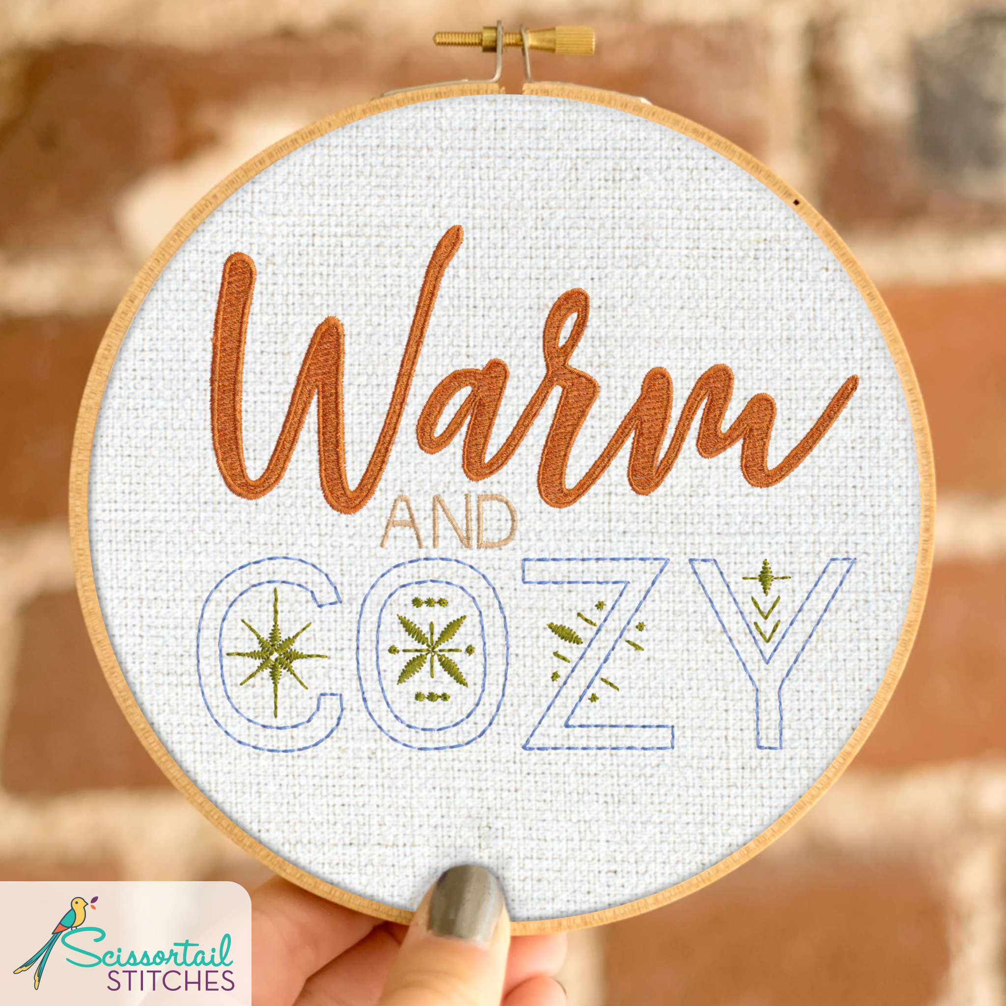 Winter machine embroidery designs