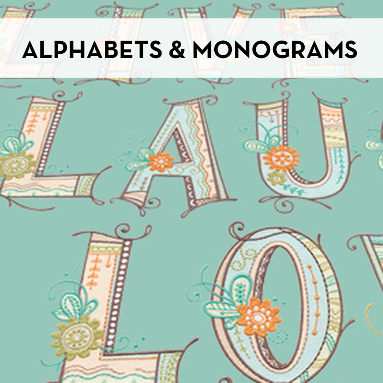 Alphabets & Monograms