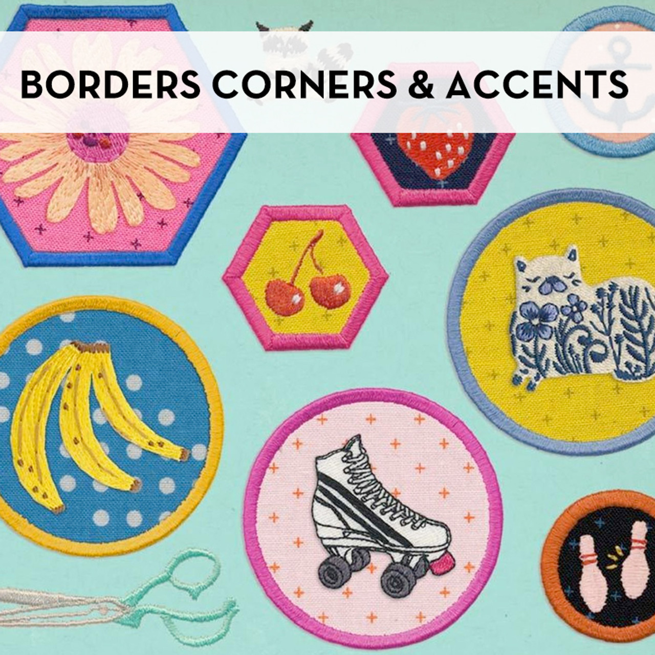 Borders Corners & Accents