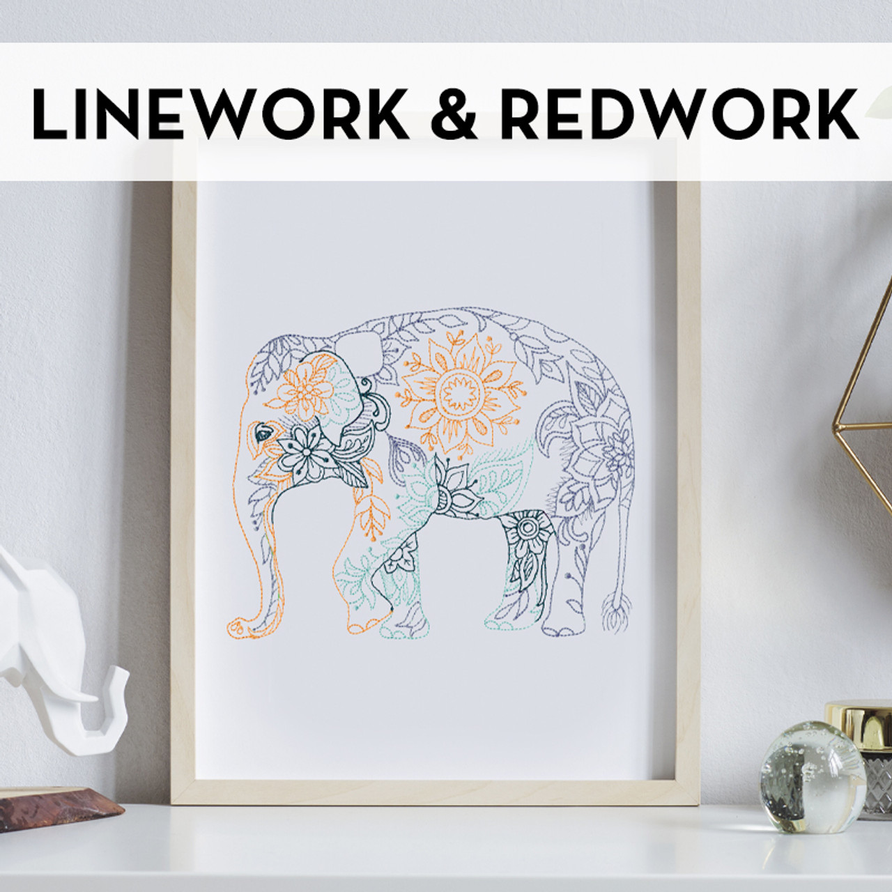 Linework & Redwork