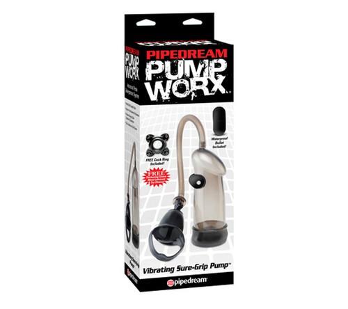 Pump Worx Vibrating Sure-Grip Pump