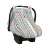 Muslin Car Seat Cover, Ribbon Stripe