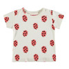 Organic Cotton Ladybugs Tee