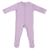 Bamboo Footed Romper, Mauve
