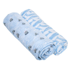 Muslin Swaddle Set, High Seas & Whales