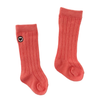Organic Ribbed Knee Sock, Nectar