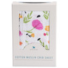 Cotton Muslin Fitted Crib Sheet, Berry & Bloom