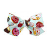 Cotton Headwrap Bow, Donuts