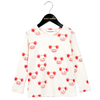 Mini Rodini Mouse LS Tee, Red