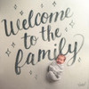 'Welcome to the Family' Organic Swaddle Scarf™