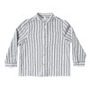 Rylee & Cru Mock Neck Shirt, Stripe