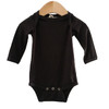 Long Sleeve Bodysuit, Black