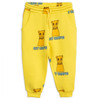 Mini Rodini Cat Campus Sweatpant, Yellow