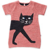 Oeuf Cat Dress, Rose/Night