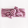 Tie On, Mauve Stripe