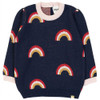 Over the Rainbow Sweater, Navy