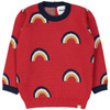 Over the Rainbow Sweater, Red