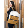 Petunia Pickle Bottom Axis Backpack, Caramel/Black