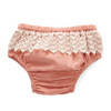 Lace Bottom Bloomer, Dusty Rose