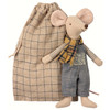 Winter Mouse, Father in a Bag
