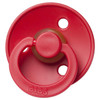 Classic Round Pacifier, Christmas Red