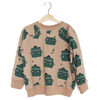 Organic French Terry Sweatshirt, Green Cooking Pots