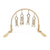 Macrame Play Gym, Natural