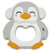 Penguin Single Teether, Grey