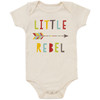Organic Cotton Bodysuit, Little Rebel