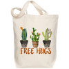 Canvas Tote, Free Hugs