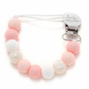 Lolli Silicone Pacifier Clip, Pinks